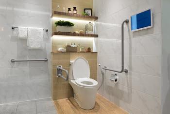 bathroom retrofit for elderly seniors
