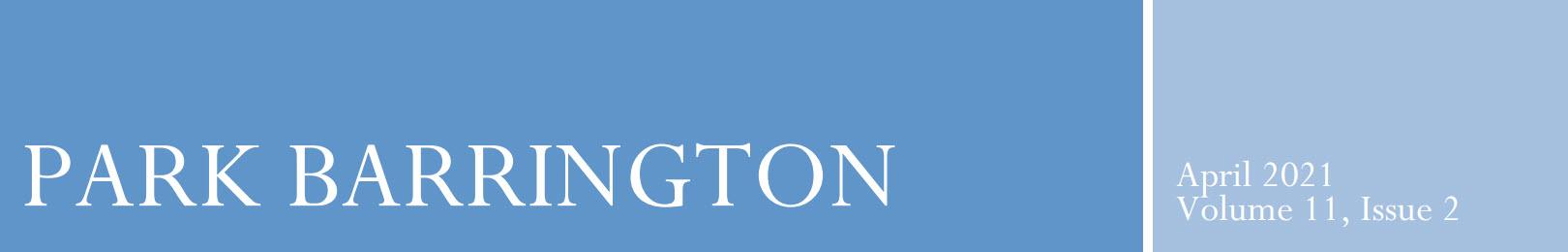Park Barrington Newsletter